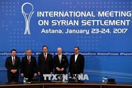 Nga, Thổ Nhĩ Kỳ và Iran ấn định thời điểm tổ chức vòng đàm phán tiếp theo về Syria