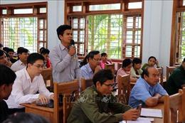 Cử tri kiến nghị có cơ chế, chính sách đặc biệt phát triển Sâm Ngọc Linh