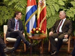 Cuba và Tây Ban Nha mong muốn thắt chặt quan hệ song phương