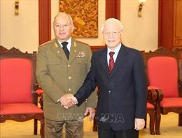 Tổng Bí thư, Chủ tịch nước tiếp Bộ trưởng Bộ các Lực lượng vũ trang Cách mạng Cuba