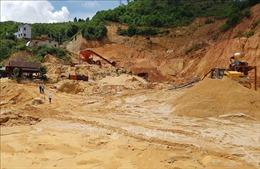 Bức xúc việc khai thác cát trái phép gây ô nhiễm môi trường ở Bảo Lộc, Lâm Đồng