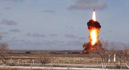 Nga thử nghiệm hệ thống phòng thủ tên lửa đạn đạo bảo vệ Moskva