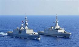 Pháp, Ai Cập tập trận chung ở Địa Trung Hải