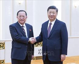 Truyền thông Triều Tiên đưa tin về cuộc gặp của Ngoại trưởng Ri Yong-ho với Chủ tịch Trung Quốc