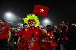 Màn ăn mừng chiến thắng 'vui hết cỡ' của các tuyển thủ Việt Nam