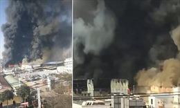 Khoảng 10 người thiệt mạng trong vụ cháy nhà máy tại Hà Nam, Trung Quốc