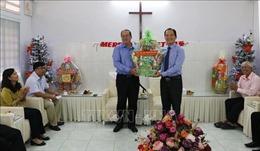 An Giang: Thăm, chúc mừng Hội thánh Tin Lành nhân Giáng sinh 2018