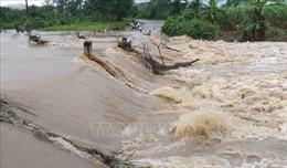 Khắc phục hậu quả mưa lũ tại huyện M'Đrắk, Đắk Lắk
