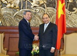 Thủ tướng Nguyễn Xuân Phúc tiếp Quyền Tổng Thư ký Đảng Dân chủ tự do Nhật Bản