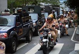 TP Hồ Chí Minh tăng cường kiểm soát an ninh trật tự