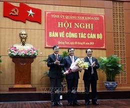 Đồng chí Phan Việt Cường được bầu giữ chức Bí thư Tỉnh ủy Quảng Nam