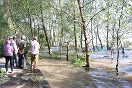 Tìm thấy thi thể một nạn nhân vụ chìm sà lan trên sông Tiền