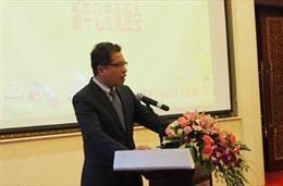 Đại sứ Việt Nam tại Trung Quốc gặp gỡ phóng viên cơ quan báo chí chủ chốt của Trung Quốc