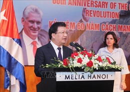 Không ngừng vun đắp tình hữu nghị đoàn kết anh em Việt Nam-Cuba