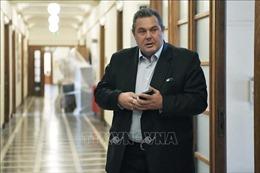 Thủ tướng Hy Lạp kêu gọi tiến hành bỏ phiếu tín nhiệm