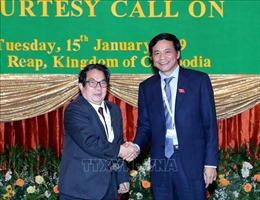 Quan hệ hợp tác giữa Quốc hội Việt Nam và Campuchia đang diễn ra rất tốt đẹp