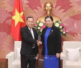 Mối quan hệ gắn bó giữa TTXVN và Thông tấn xã Pathet Lào