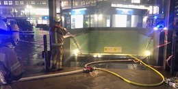 Hỏa hoạn khiến giao thông khu vực nhà ga tàu điện ngầm ở Berlin tê liệt