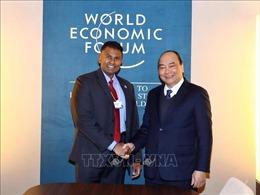Thủ tướng Nguyễn Xuân Phúc tiếp lãnh đạo các Tập đoàn đa quốc gia bên lề WEF Davos 2019