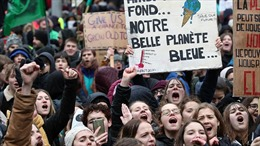 Tuần hành lớn tại Pháp và Bỉ yêu cầu các chính phủ hành động chống biến đổi khí hậu