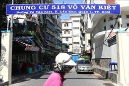 TP Hồ Chí Minh phá dỡ khẩn cấp Lô E chung cư 518 Võ Văn Kiệt