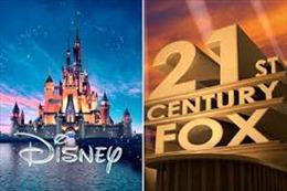 Walt Disney hướng tới dẫn đầu trong ngành giải trí và truyền thông Mỹ