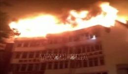 Nạn nhân vụ cháy khách sạn ở Ấn Độ tăng lên 17 người