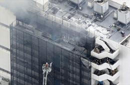 Cháy kho chứa sản phẩm đông lạnh, 4 người thương vong