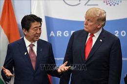 Lãnh đạo Nhật - Mỹ điện đàm thảo luận hợp tác về Triều Tiên