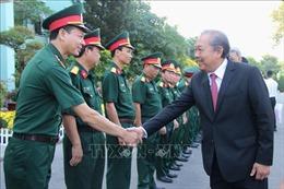 Phó Thủ tướng Trương Hòa Bình thăm, làm việc với Bệnh viện Quân y 175