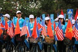 Diễu hành tuyên truyền xây dựng nếp sống người Hà Nội thanh lịch, văn minh