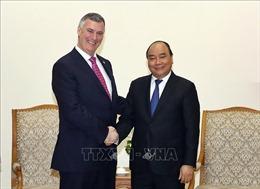 Thủ tướng Nguyễn Xuân Phúc tiếp lãnh đạo hai tập đoàn lớn của Mỹ, Anh