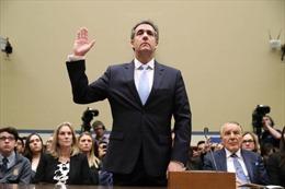 Cựu luật sư riêng của Tổng thống Mỹ điều trần trước Quốc hội