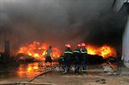 Cháy lớn tại một cây xăng ở Trảng Bàng, Tây Ninh