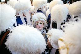 Độc đáo lễ hội hóa trang Carnaval Binche tại Bỉ