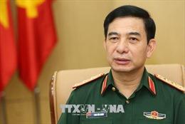 Đoàn đại biểu Quân sự cấp cao Quân đội nhân dân Việt Nam thăm Campuchia