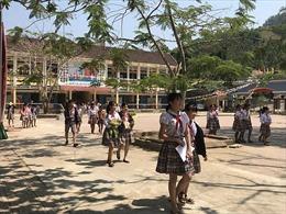 Trường miền núi đầu tiên ở Quảng Ngãi tự lắp camera giám sát