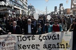 Hoạt động tưởng niệm 76 năm 'chuyến tàu chết chóc Holocaust'