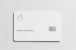 Apple sắp phát hành thẻ tín dụng Apple Card