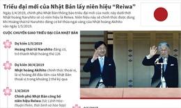 Triều đại mới của Nhật Bản lấy niên hiệu 'Reiwa'