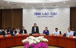Đoàn công tác Tiểu ban Văn kiện Đại hội XIII của Đảng làm việc tại Lào Cai
