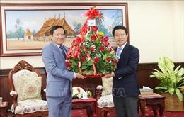 Đại sứ Việt Nam tại Lào chúc mừng Tết cổ truyền dân tộc Lào