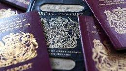 Anh bắt đầu cấp hộ chiếu không có dòng chữ 'Liên minh châu Âu'