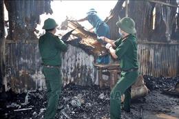 Tìm thấy 5 thi thể trong vụ hoả hoạn tại Trung Văn (Hà Nội)