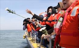 Hàn Quốc tưởng niệm các nạn nhân vụ chìm phà Sewol