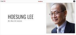 Times vinh danh nhiều nhân vật Hàn Quốc xuất chúng