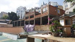 Lâm Đồng: Công trình xây dựng làm tràn bùn đất vào nhà dân