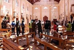 Bắt giữ 13 đối tượng liên quan đến loạt vụ nổ ở Sri Lanka