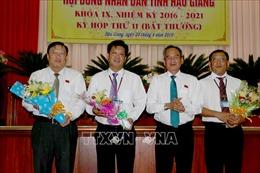 HĐND tỉnh Hậu Giang họp phiên bất thường, kiện toàn công tác cán bộ