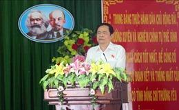Chủ tịch Ủy ban Trung ương MTTQ Việt Nam Trần Thanh Mẫn: Ma túy là vấn đề nhức nhối